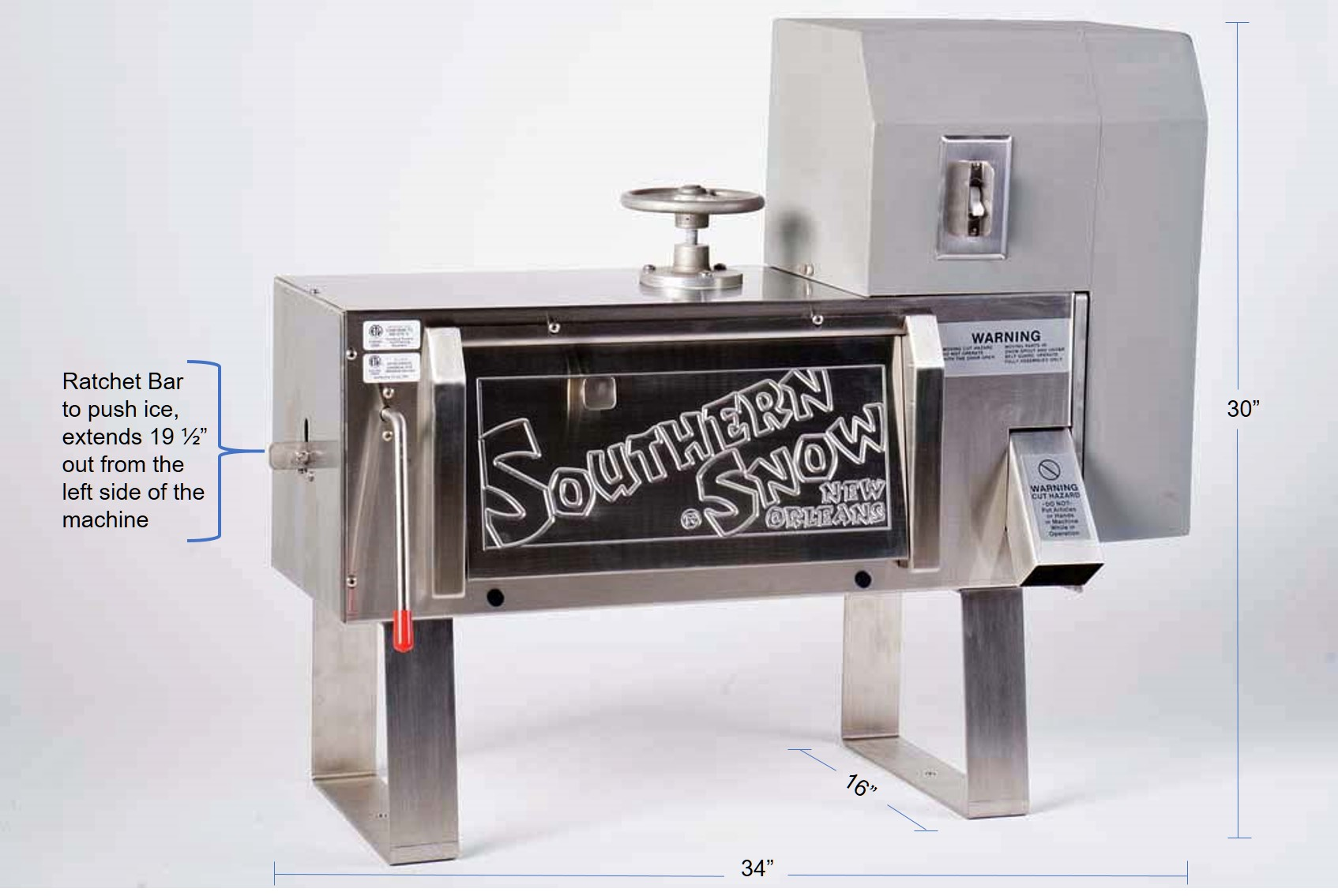 southern snow shaved ice machine - Commercial Snow Cone Machine